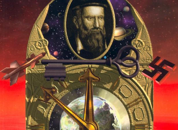 Nostradamus Book Cover