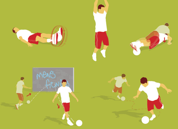 Fitness Football Training Exercise