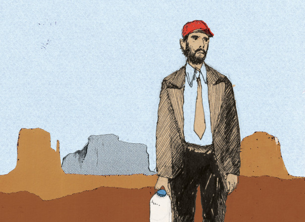 Paris, Texas Poster