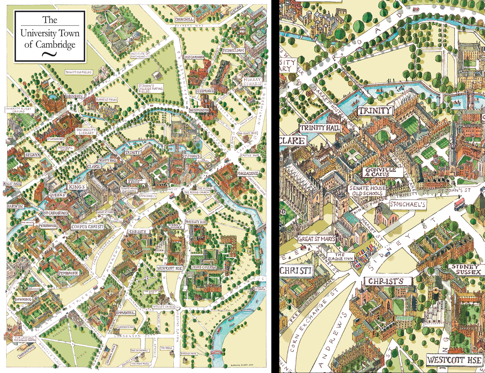 The University Town of Cambridge / CAM Magazine