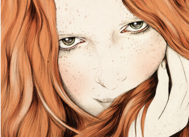 Alice Freckles Redhead Hair