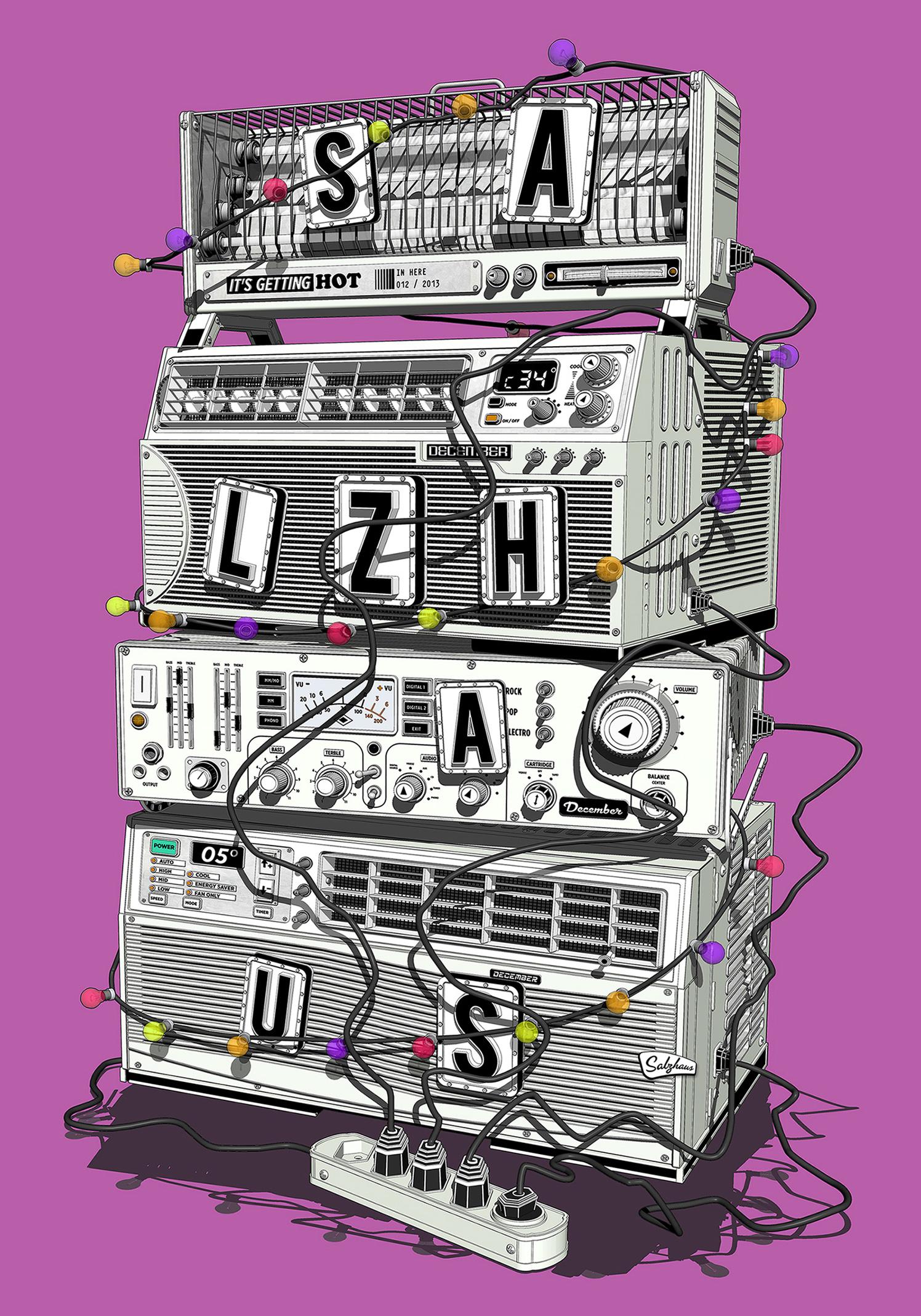 Amp Stack / Salzhaus