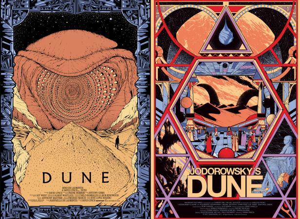 Mondo Dune Screenprinted Posters