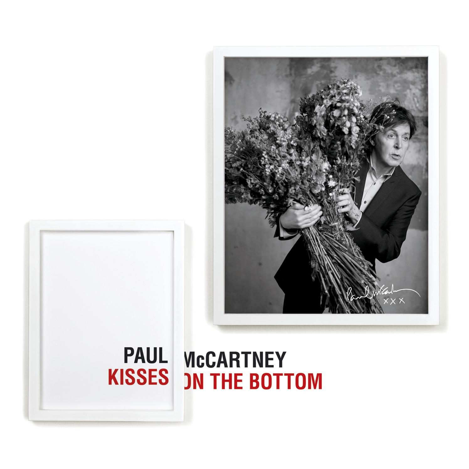 Paul McMartney / Kisses On The Bottom Album Cover