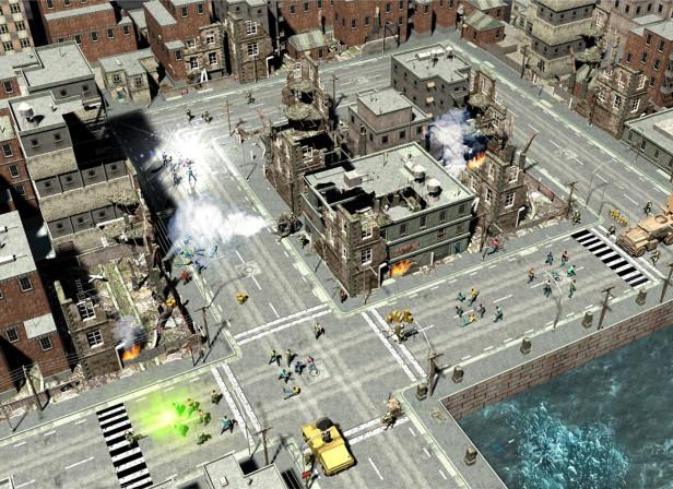 Terrorist Attack City