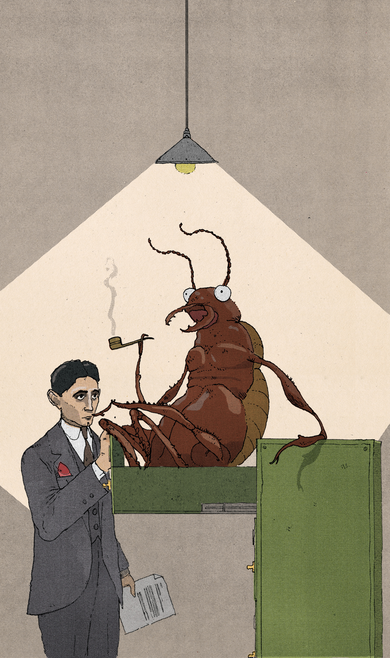 Kafka's Writing Bug / The Telegraph