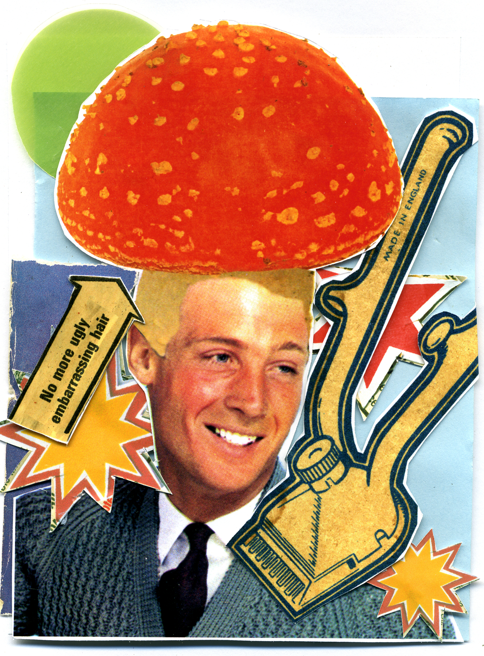 Mushroom Head Haircut GQ