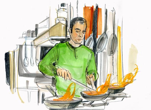 Yottam Ottolenghi Jerusalem Food Market Chef / Conde Nast
