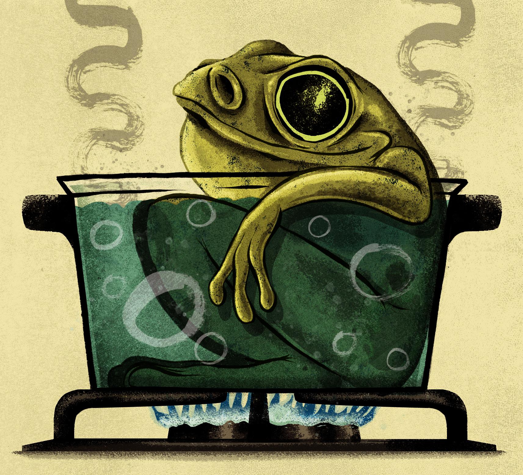 Pension Frog