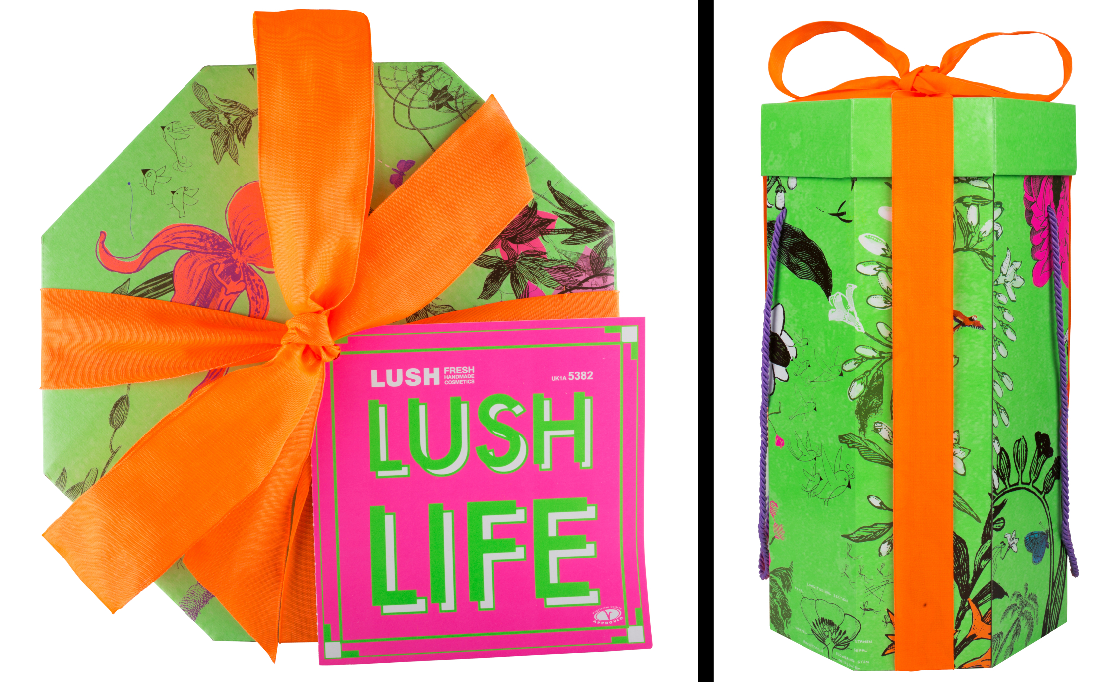 LUSH cosmetics Packaging