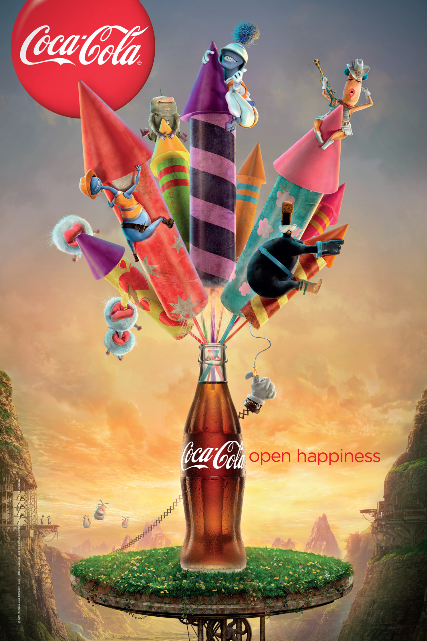 Coca Cola Happiness Factory 6 Sheet