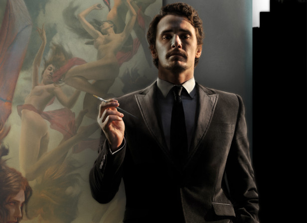 James Franco With Nemesis & The Erinyes