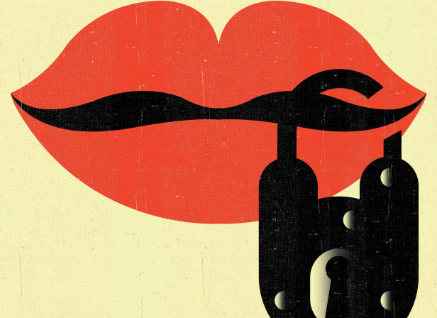 Lips Secret Relationship Lock Metro