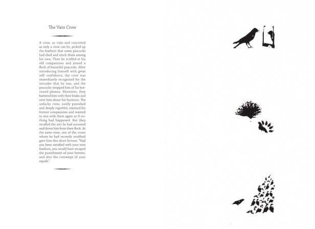 The Vain Crow Aesop Fable