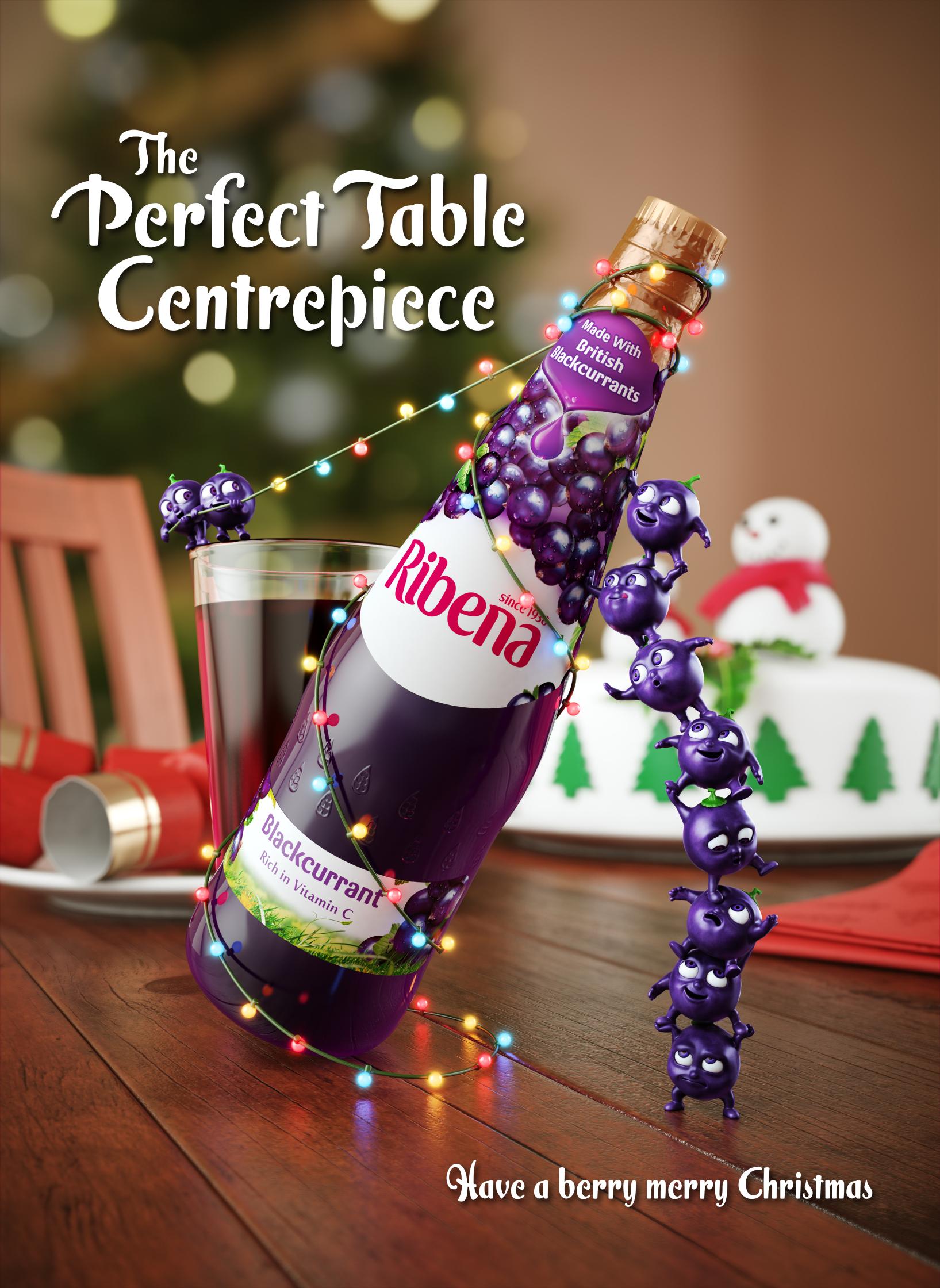 Ribena Berry Merry Christmas