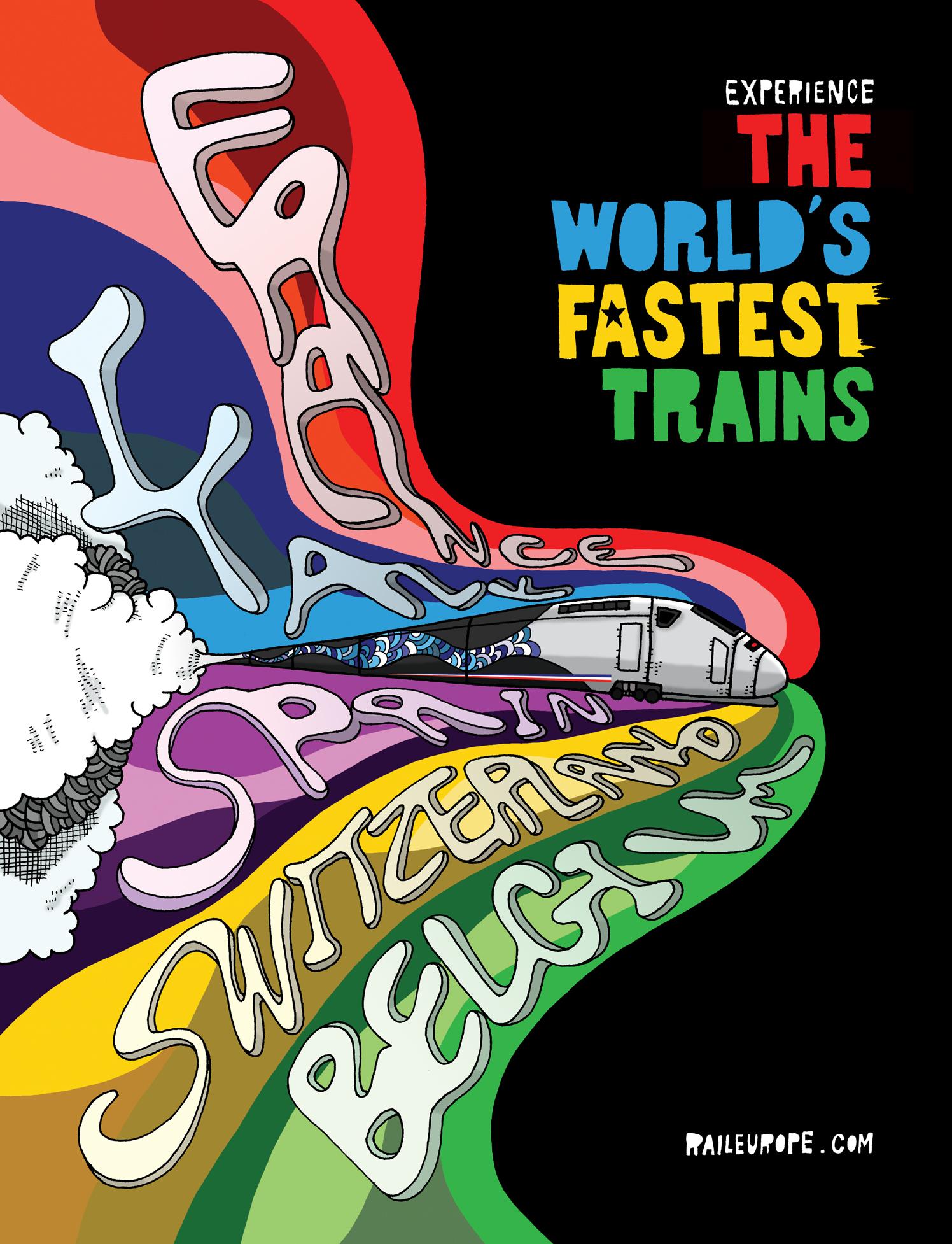 TGV Trains Destinations