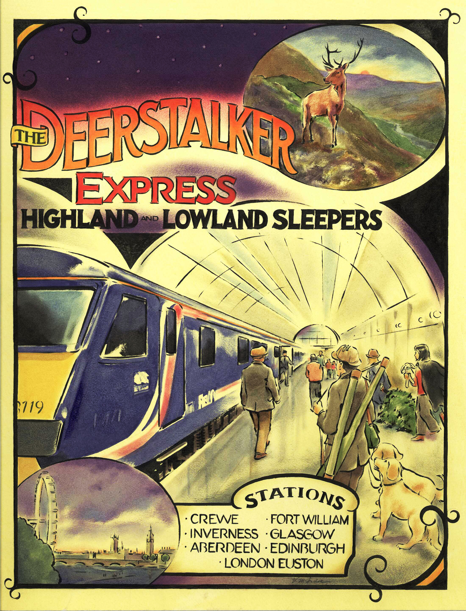 The Deerstalker Express