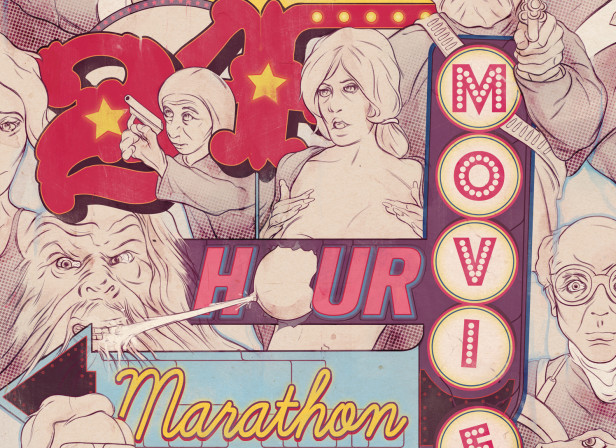 24 Hour Movie Marathon Now Showing