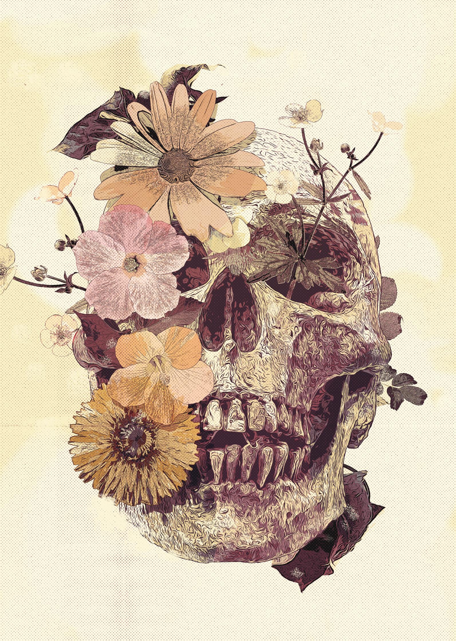 Skull & Petals