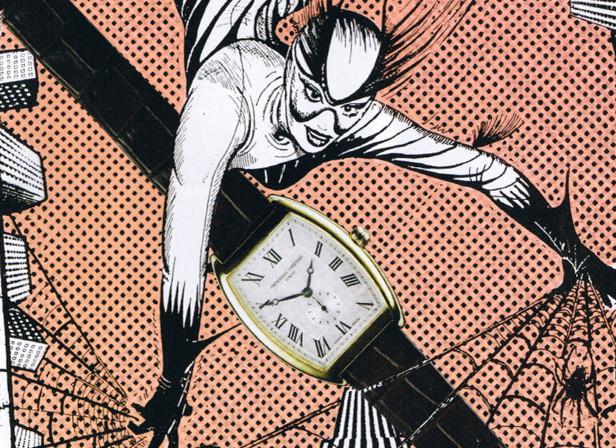 Action Woman Watches / Harpers Bazaar