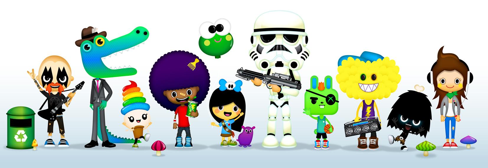 Xbox Characters 1