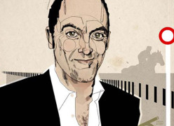 James Nesbitt / Cheltenham Open Mag