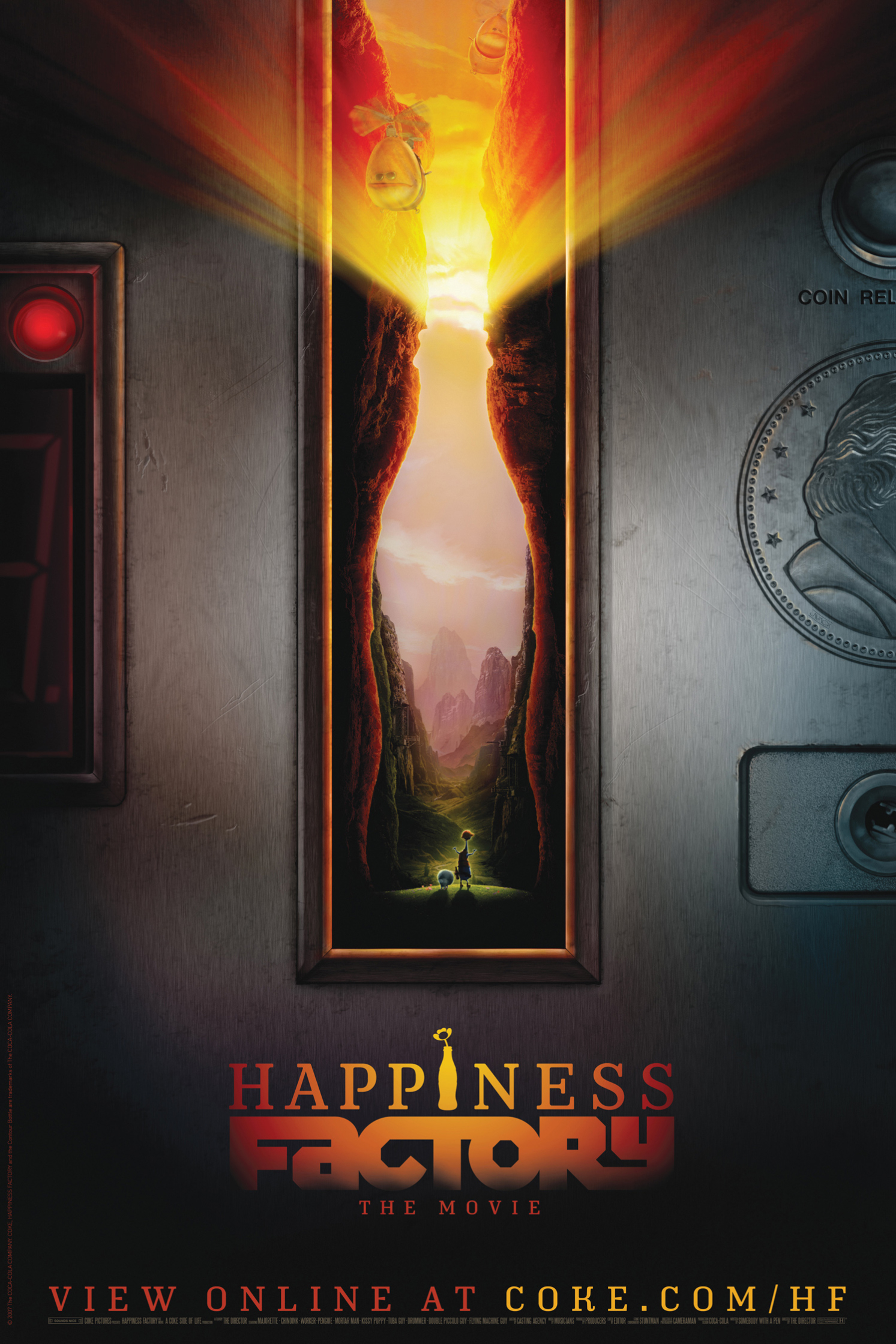 Coca Cola Happiness Factory the Movie Keyhole