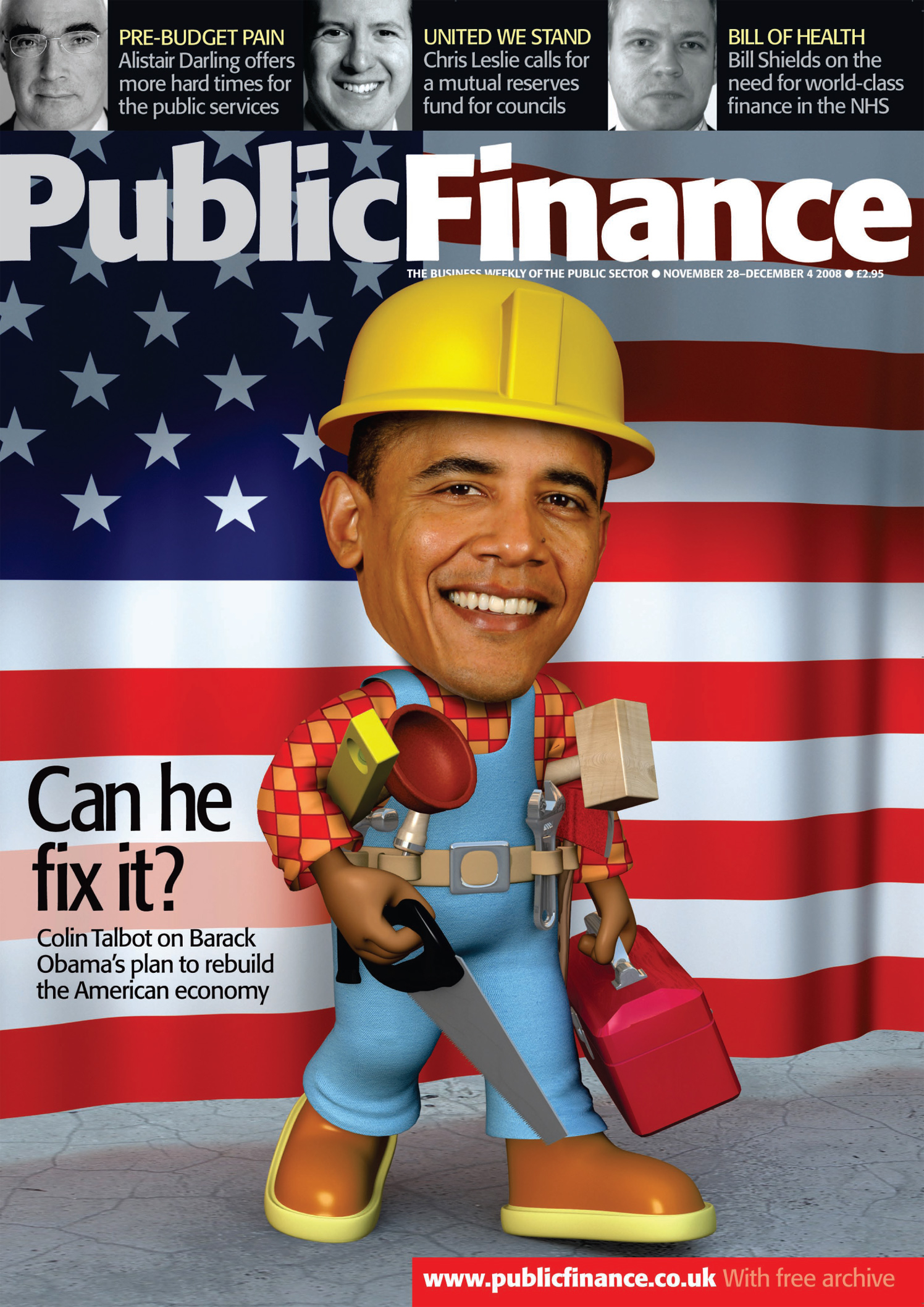 Can He Fix It? / Public Finance