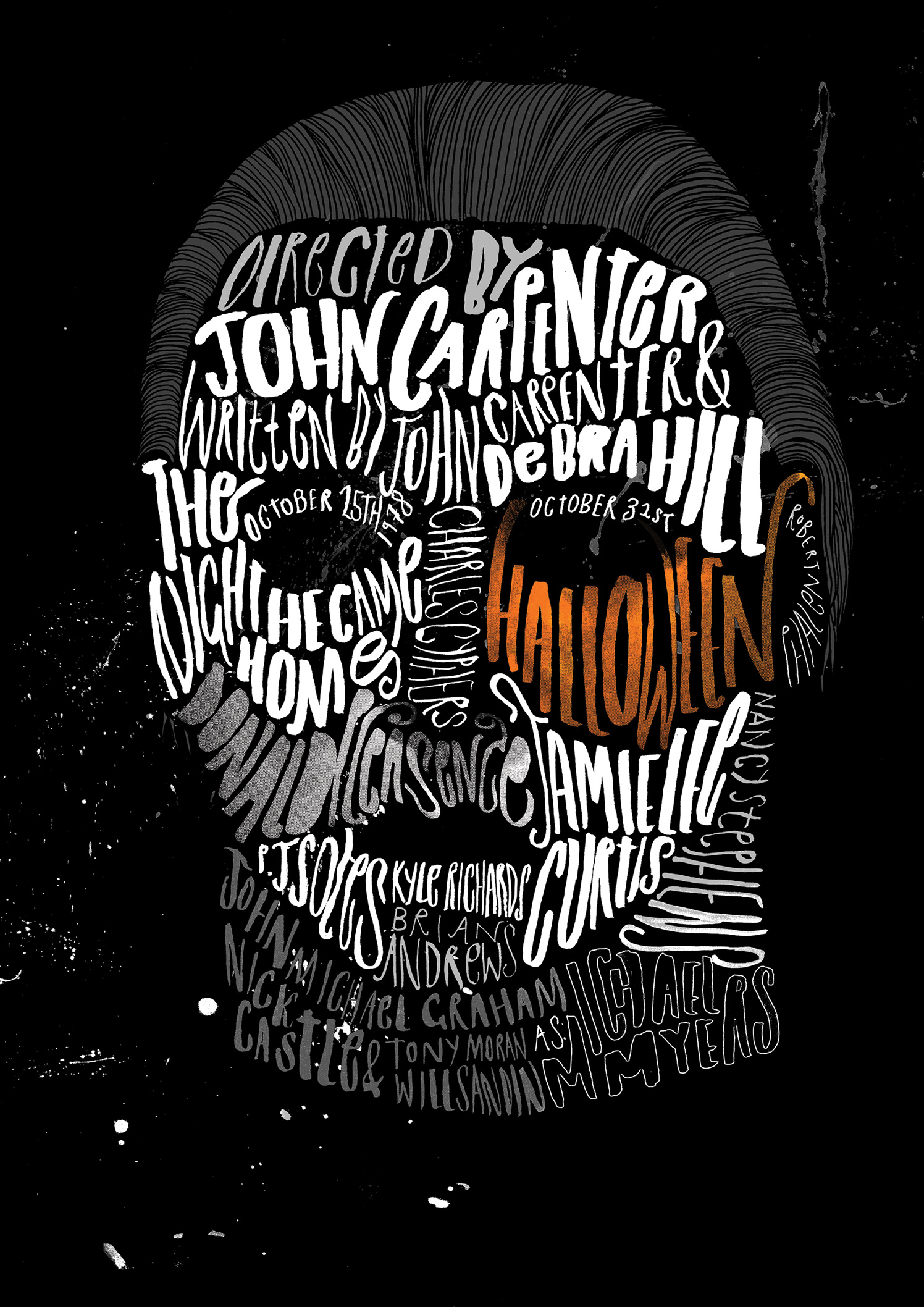 Michael Myers / Halloween Poster