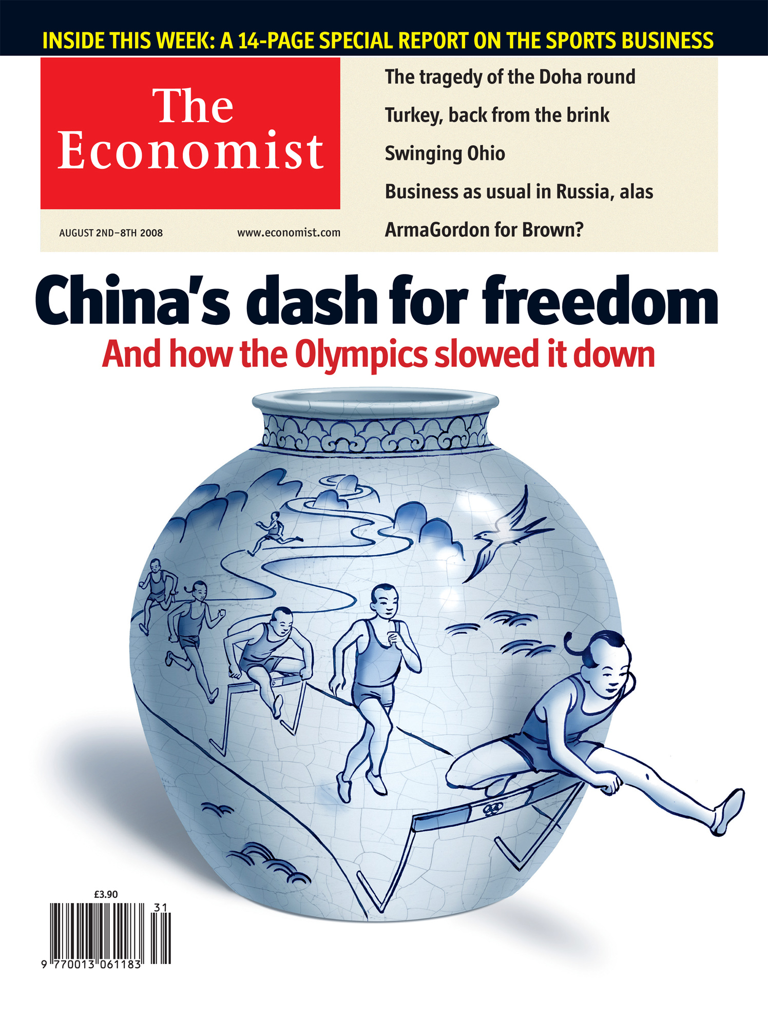 The Economist China's Dash For Freedom