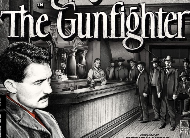 The Gunfighter. Gregory Peck. Criterion Collection. cover. jennifer dionisio illustration artwork.jpg