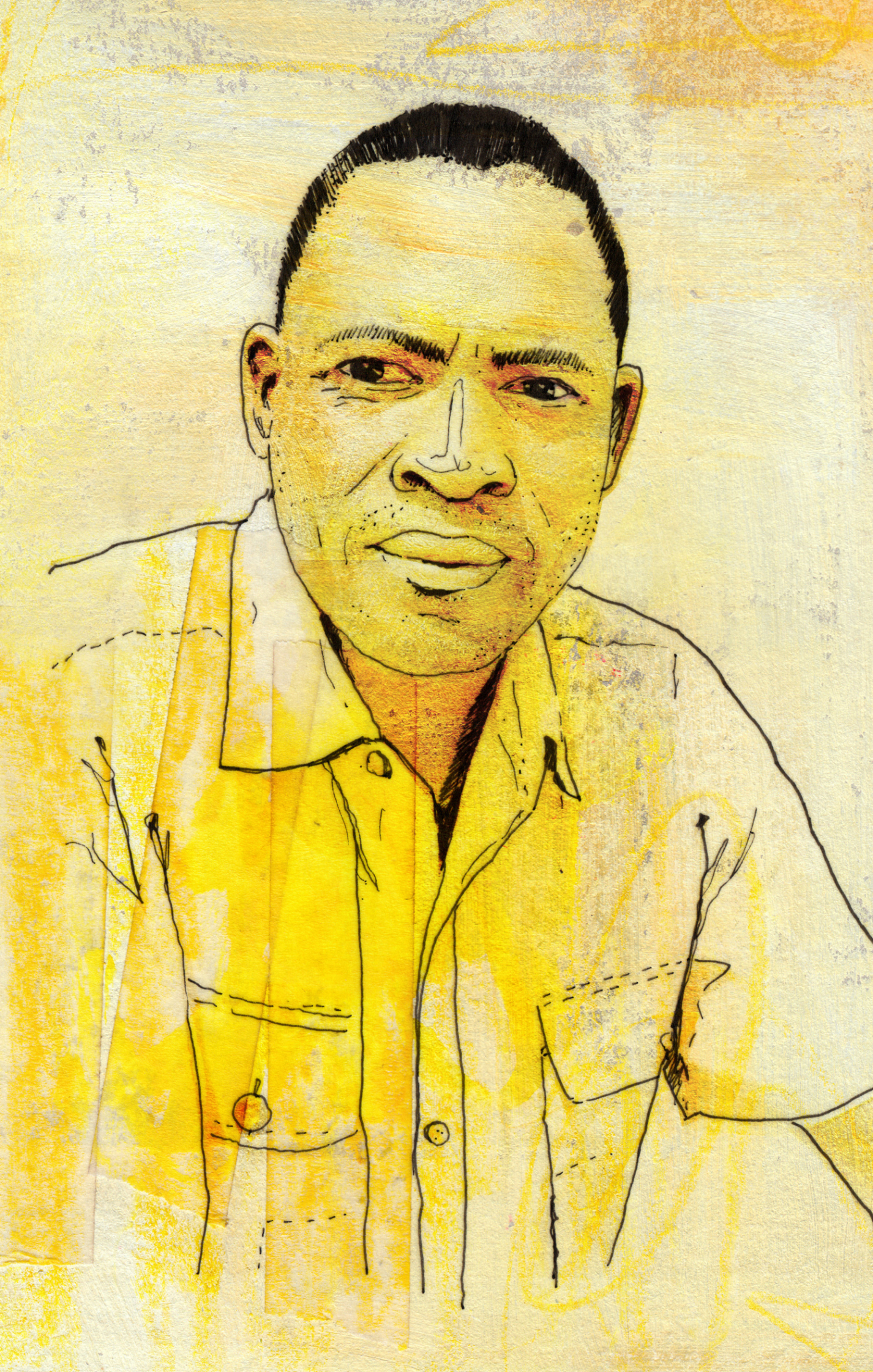 Afro American Portrait Tearfund Charity