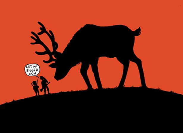 By Elk