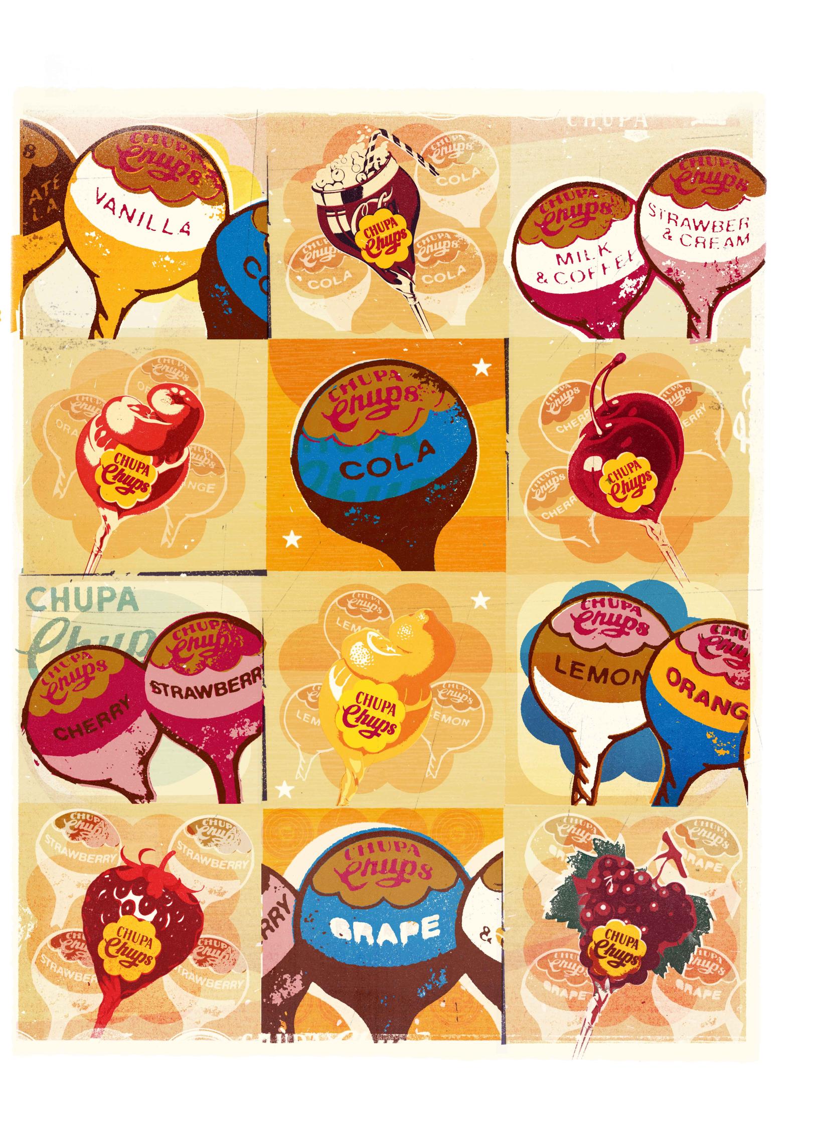 Lollipop Flavours / Chupa Chups