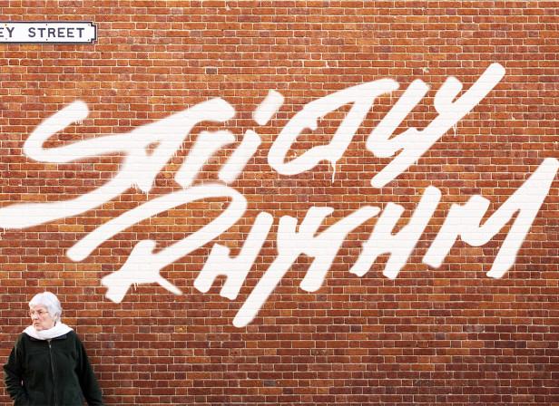 Strictly Rhythm Logo Wall