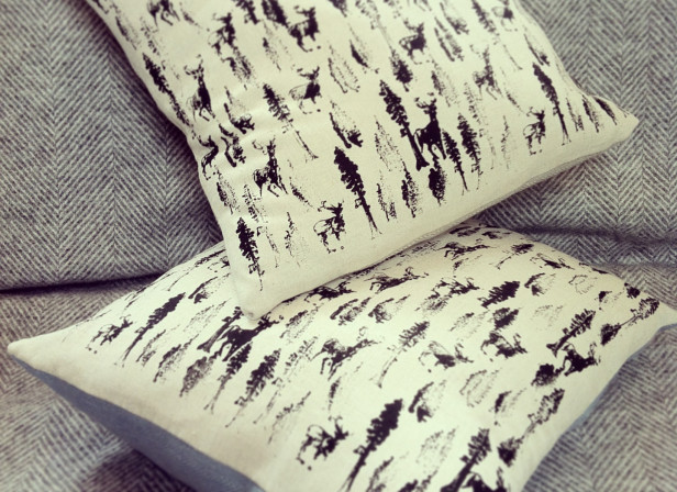 Forest 2 Tone Cushion