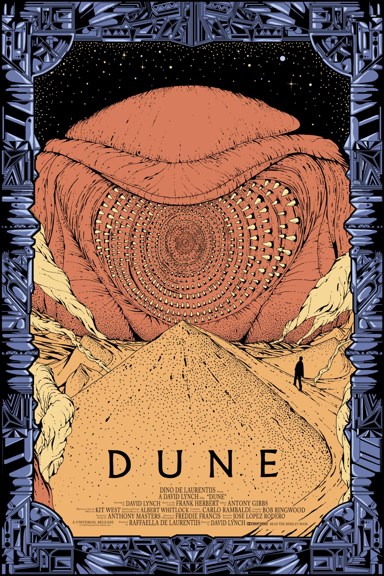 Mondo Dune Poster