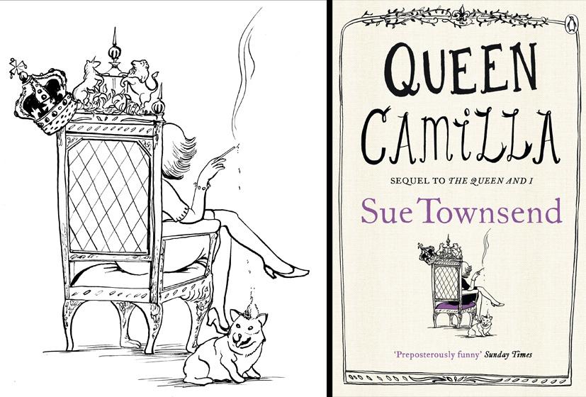 Sue Townsend Cover - Queen Camilla