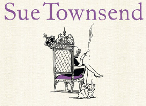 Sue Townsend Cover - Queen Camilla