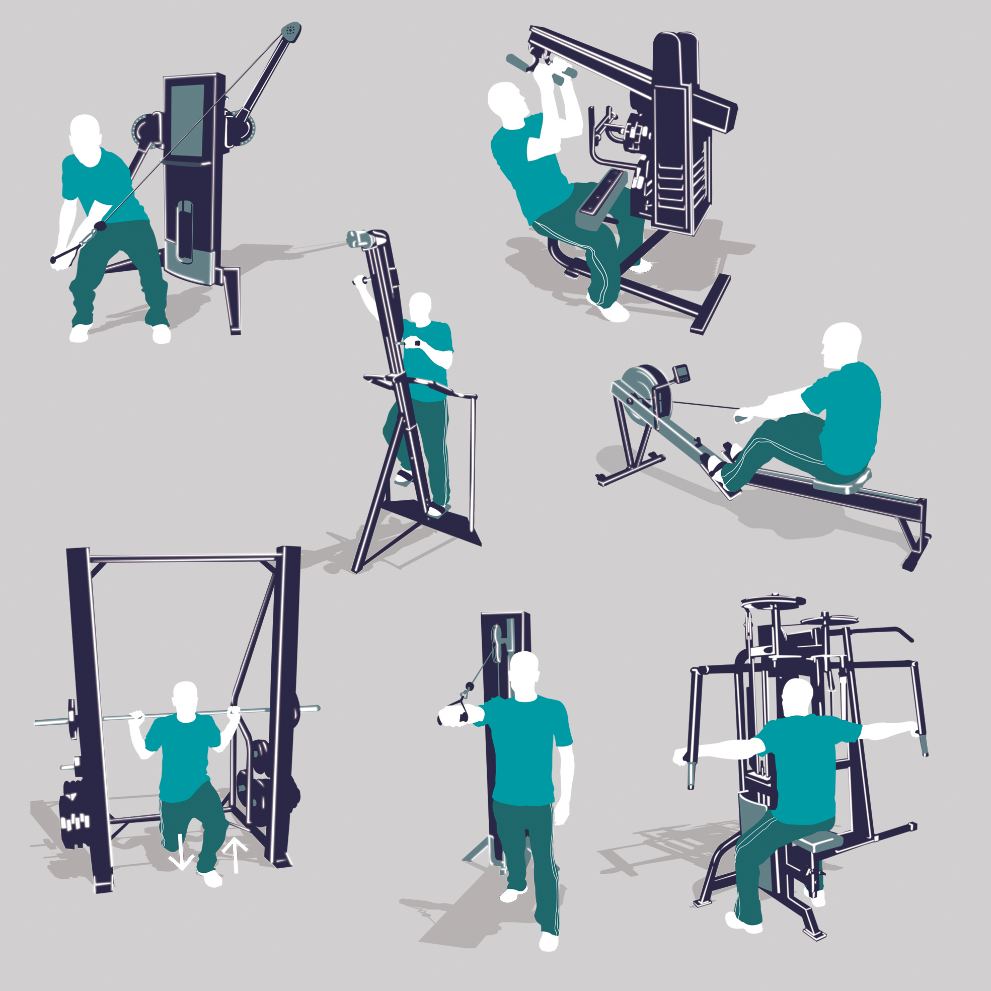 Mens Fitness Machines