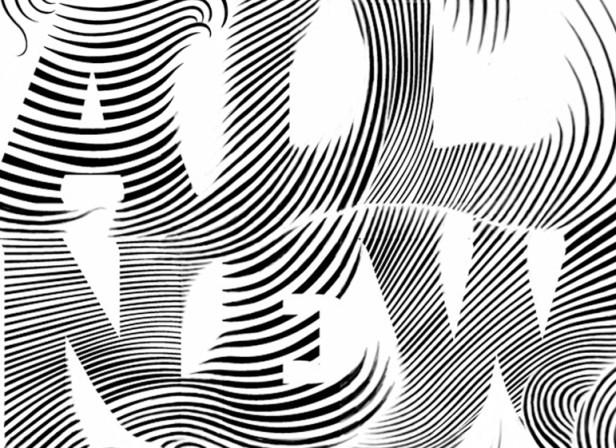 GQ Magazine Hedi Slimane Typography