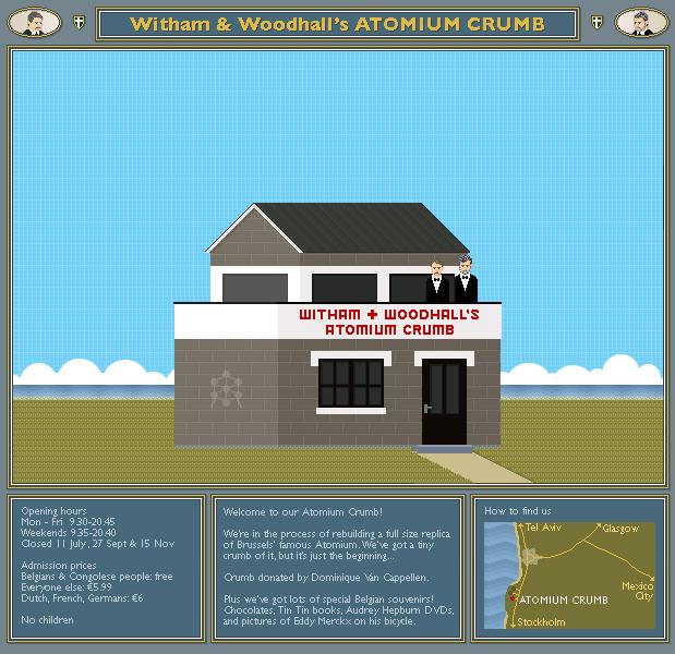Witham and Woodhall's Atomium Crumb