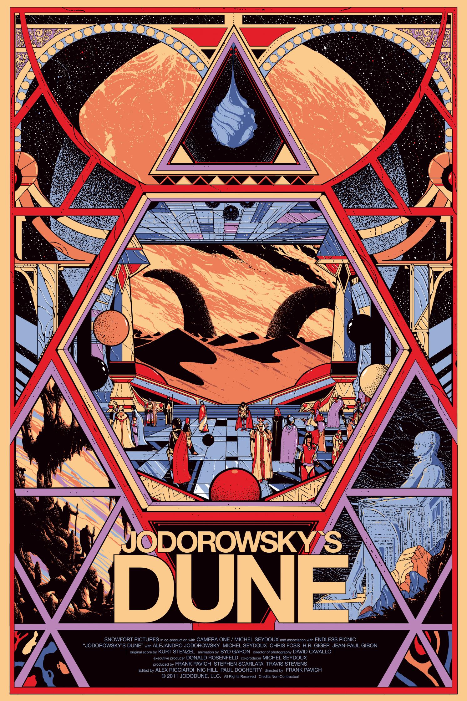 Mondo Jodorowsky's Dune Screenprint Poster