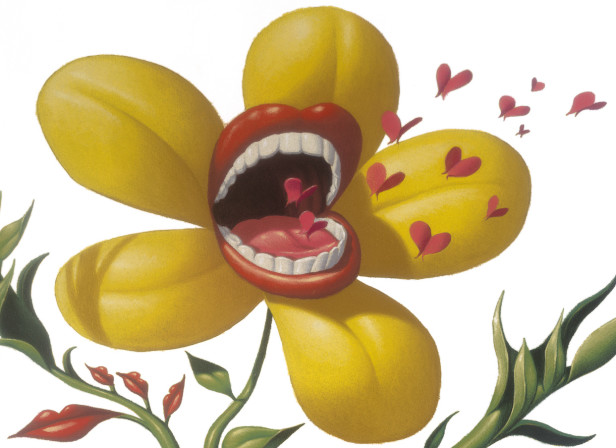 Cadburys Flower