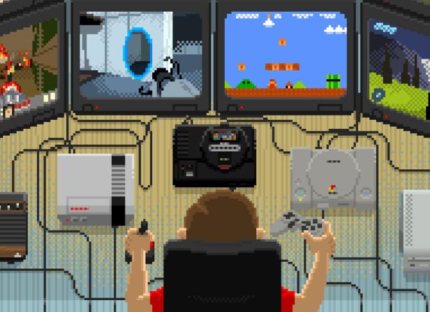 Videogames Tester / Maxim Magazine