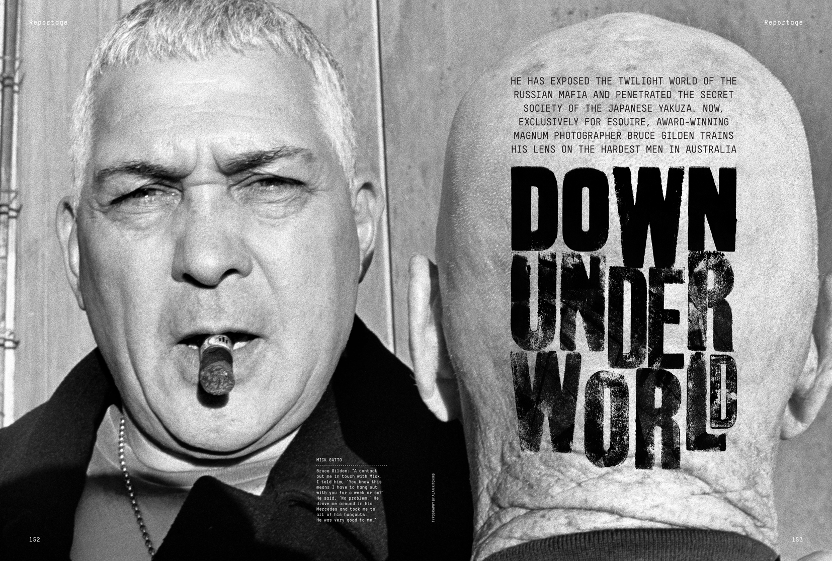 Esquire Down Underworld