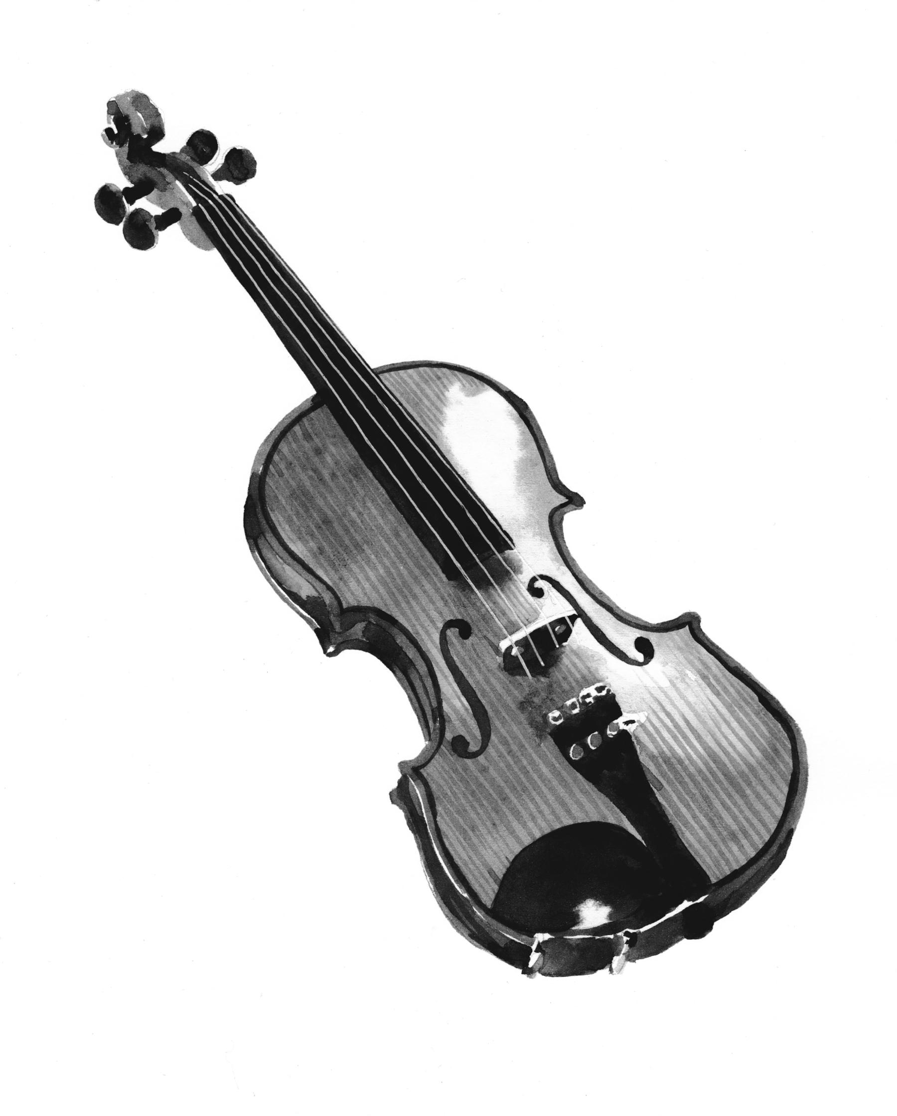 Afar Wandering Chef Violin