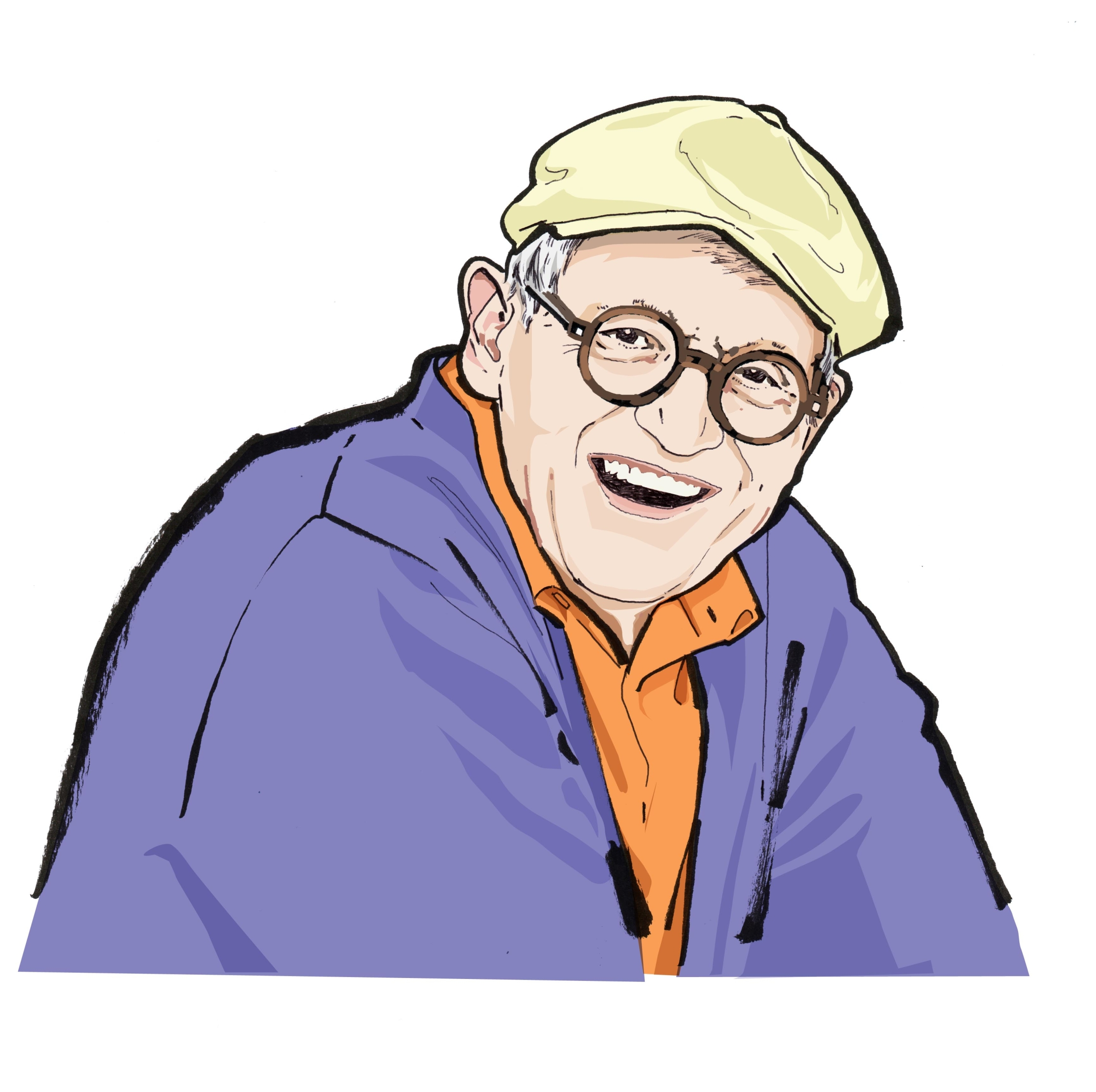 Portrait 5-David Hockney.jpeg