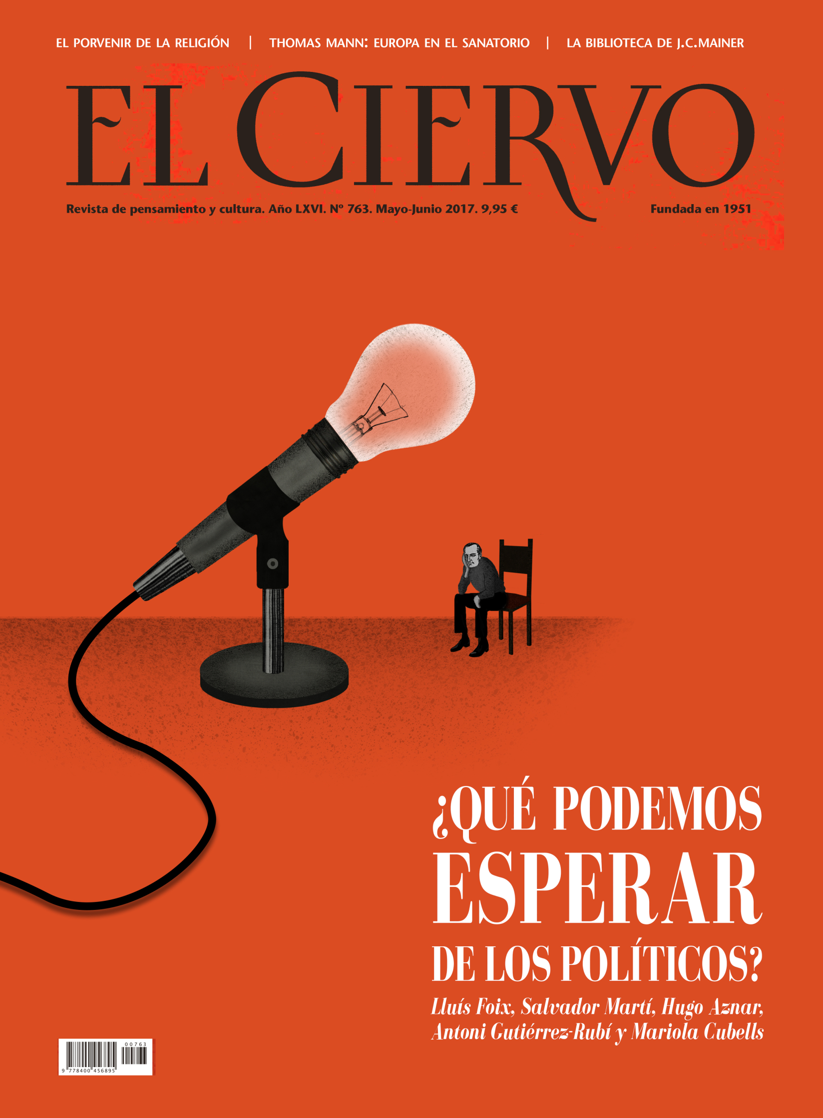 Cover for El Ciervo Magazine (What can we expect from politicians).jpg