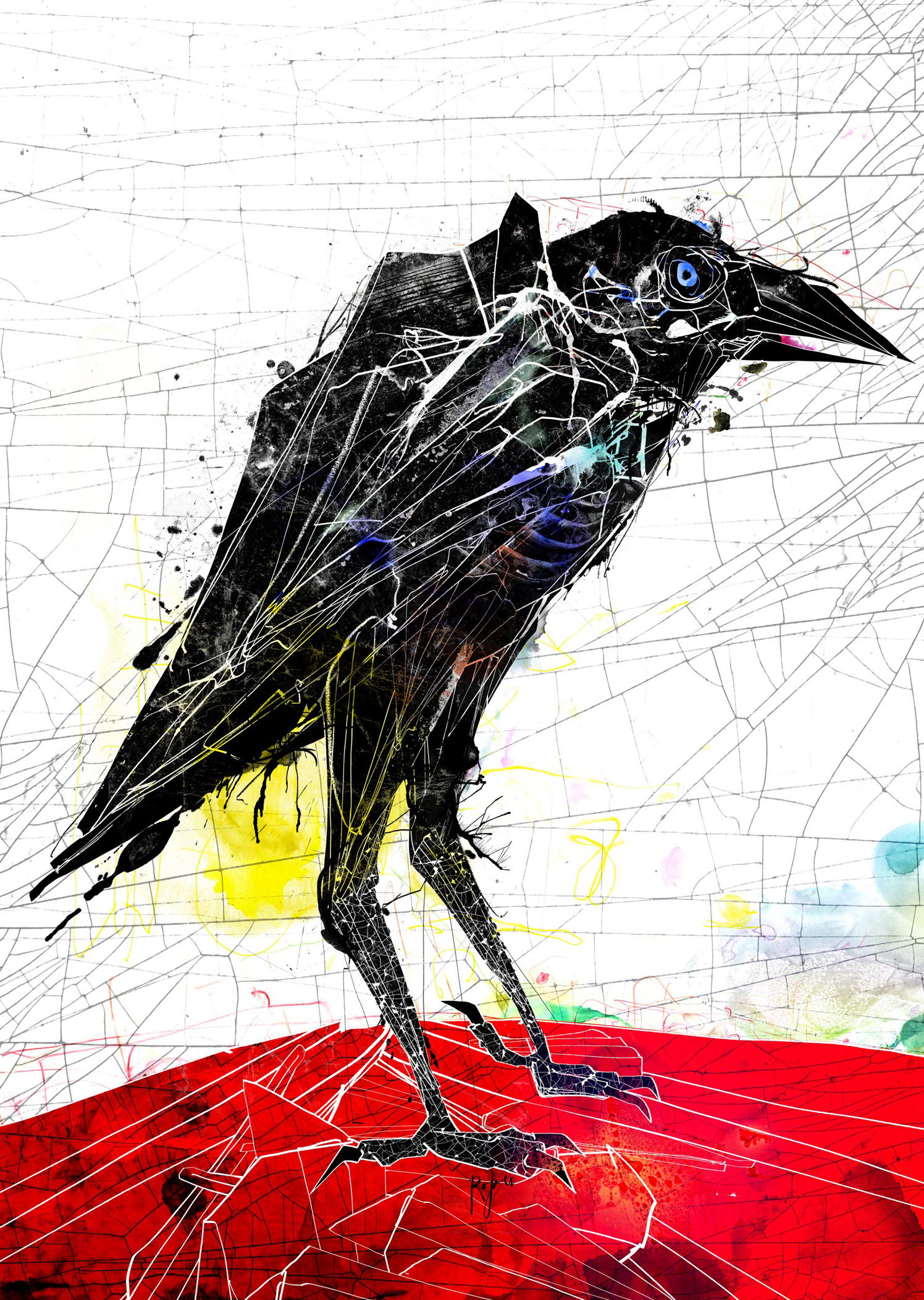 Crow / Ted Hughes Theatre Production